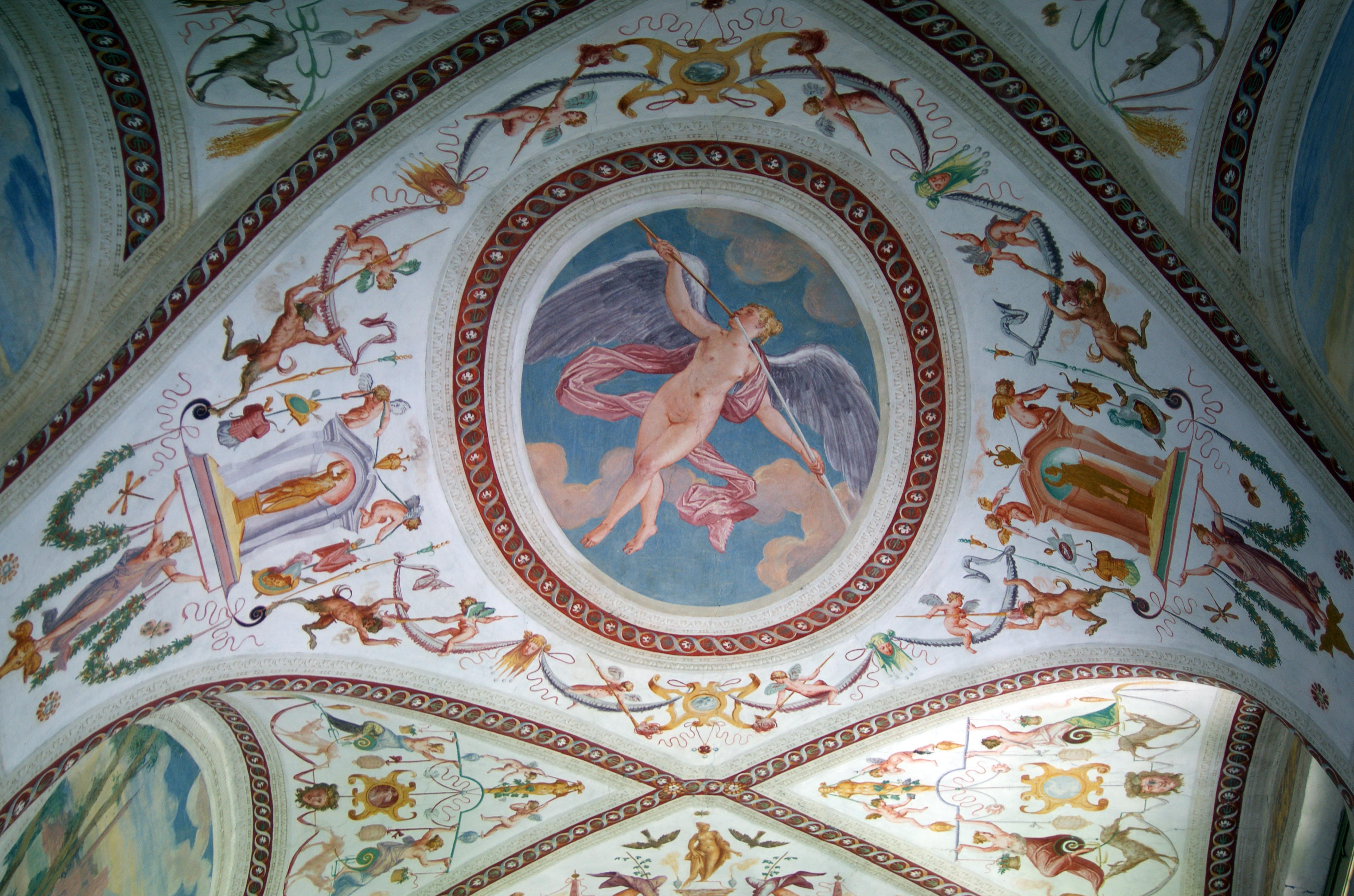 Description Mal... Palladio Villa Rotunda