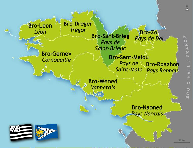 Langueux Location Guide  |Saint Brieuc Carte