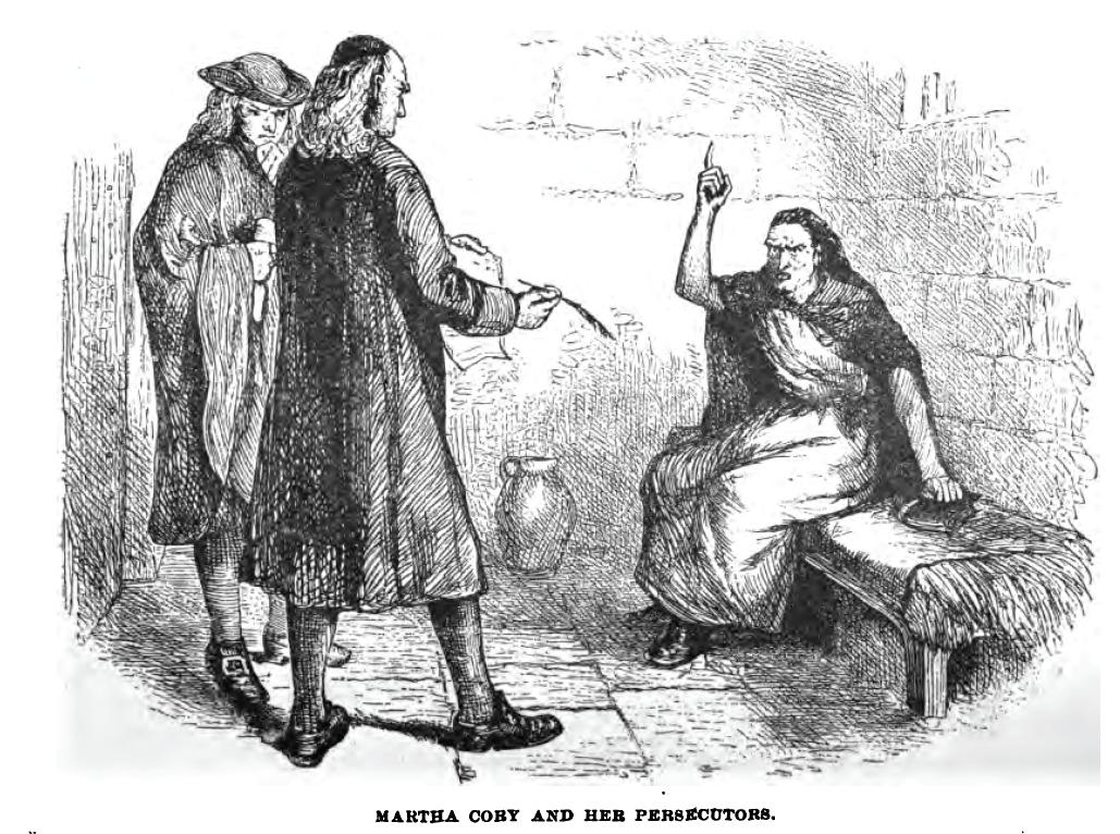 John Proctor Drawing Drawing of Martha Corey And