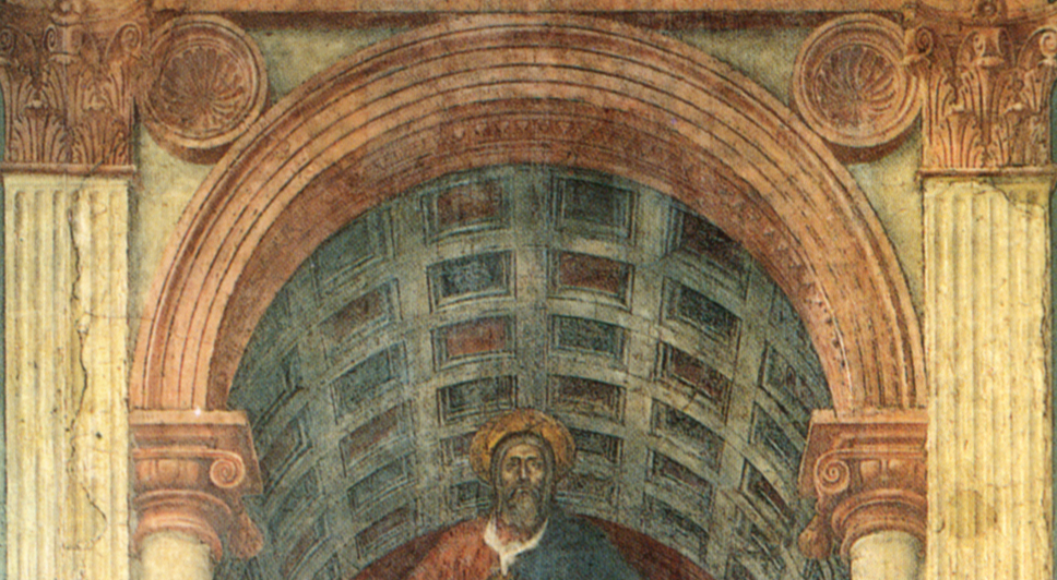 an analysis of the holy trinity by masaccio in 1428 Masaccio s holy trinity  masaccio's holy trinity hum – 104 linda igielski frank demos january 26,2014 painter tommaso de ser giovanni, born in 1401 and soon died at the age of 26 years old with the nickname of masaccio, was commissioned to work on the brancacci chapel in florence, italy in 1425.