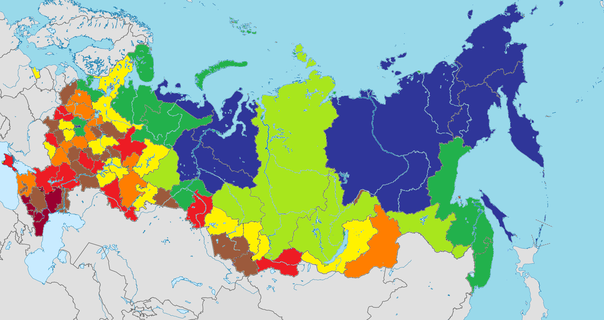 Средняя зарплата в россии 2019 году по данным росстата регионам