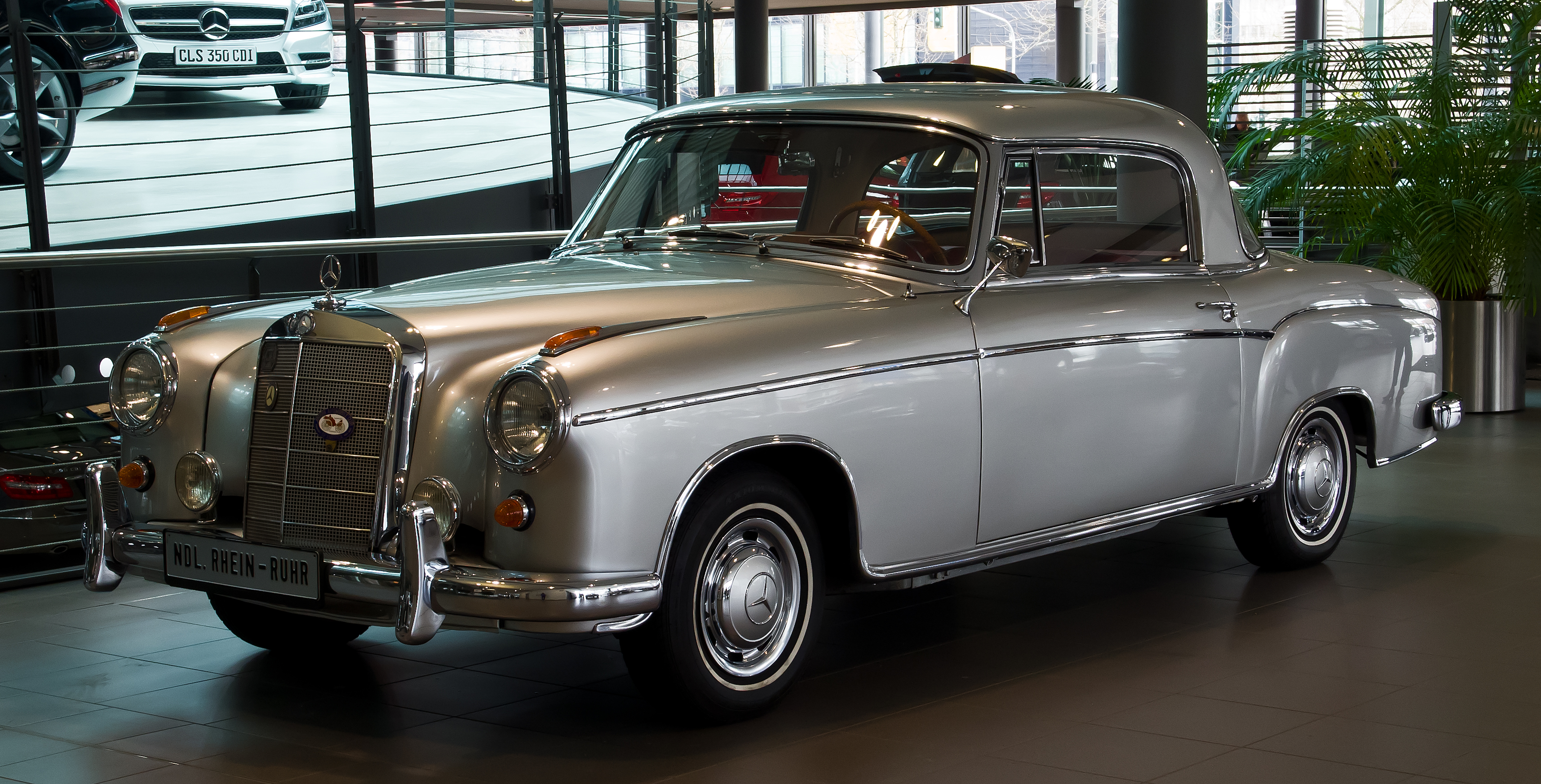 mercedes w128 coupe