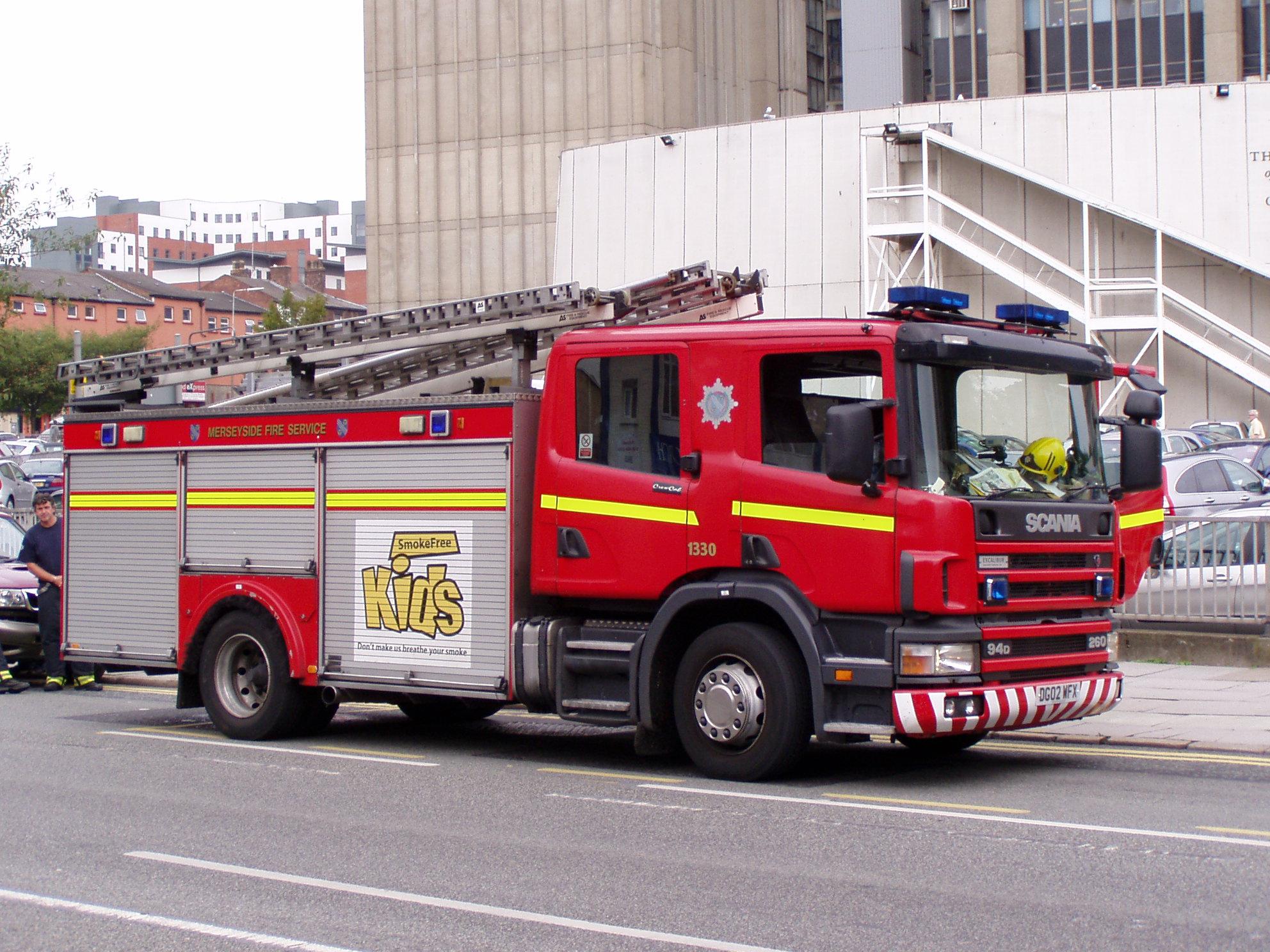 File Merseyside Fire Engine Jpg Wikimedia Commons