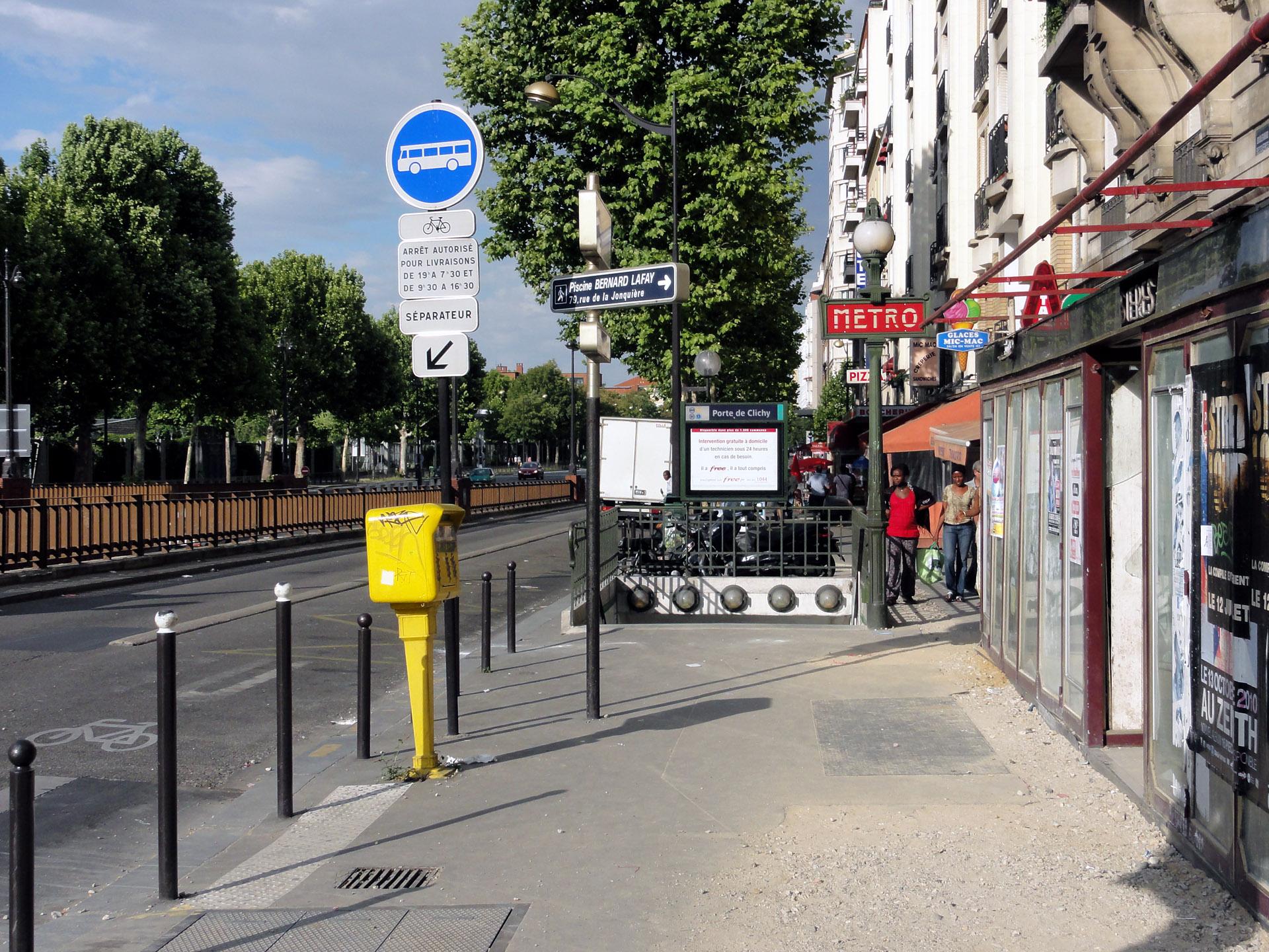 File Metro De Paris Ligne 13 Porte De Clichy 08 Jpg Wikimedia