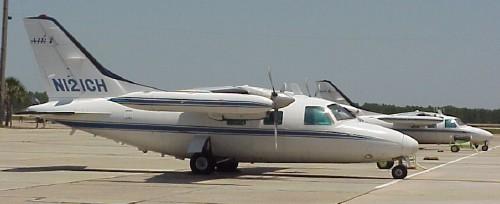 mu2 4 Mitsubishi mu-2 flight.