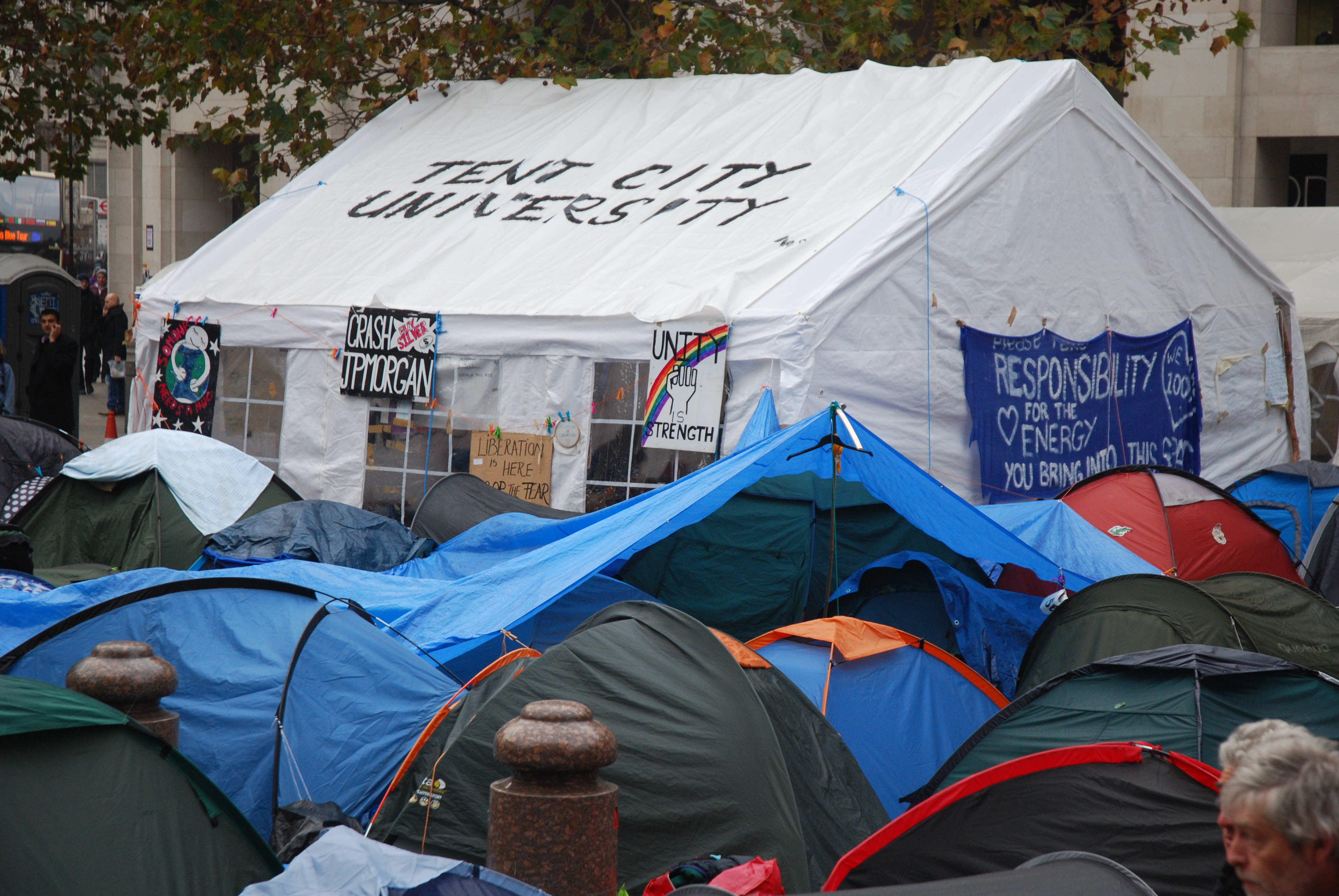 File:Occupy London Tent City University.jpg - Wikimedia Commons