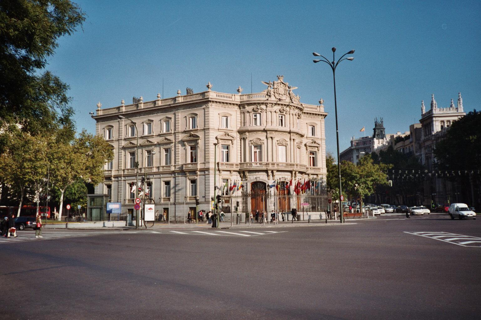 File Palacio De Linares Plaza De Cibeles Madrid Jpg