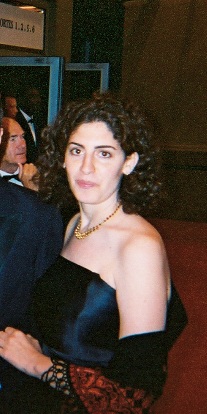 Palestinian actress Reem Abu Sbaih, Composer Kamran Rastegar, and Writer-Director Annemarie Jacir at Cannes International Film Festival 2003 for World Premiere of like twenty impossibles (cropped).jpg