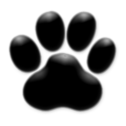 Dog Paw Prints With Dayings