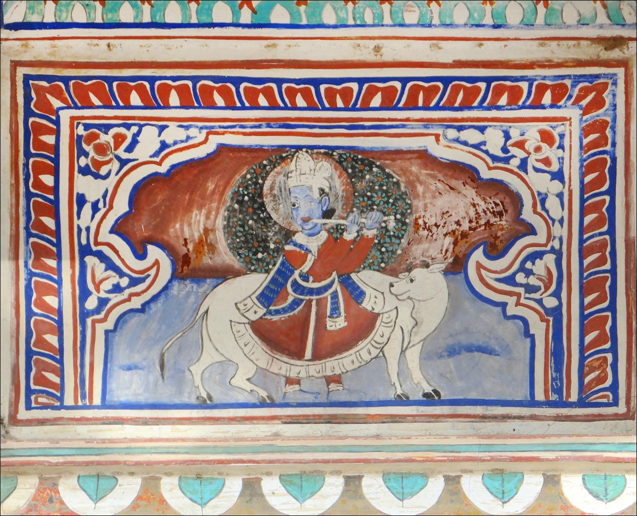 File peinture murale sneh ram ladias haveli mandawa for Les differents types de peintures murales