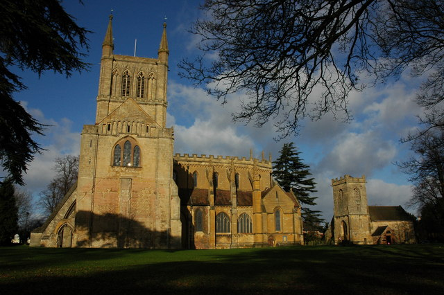 Pershore Abbey History File Pershore Abbey And st