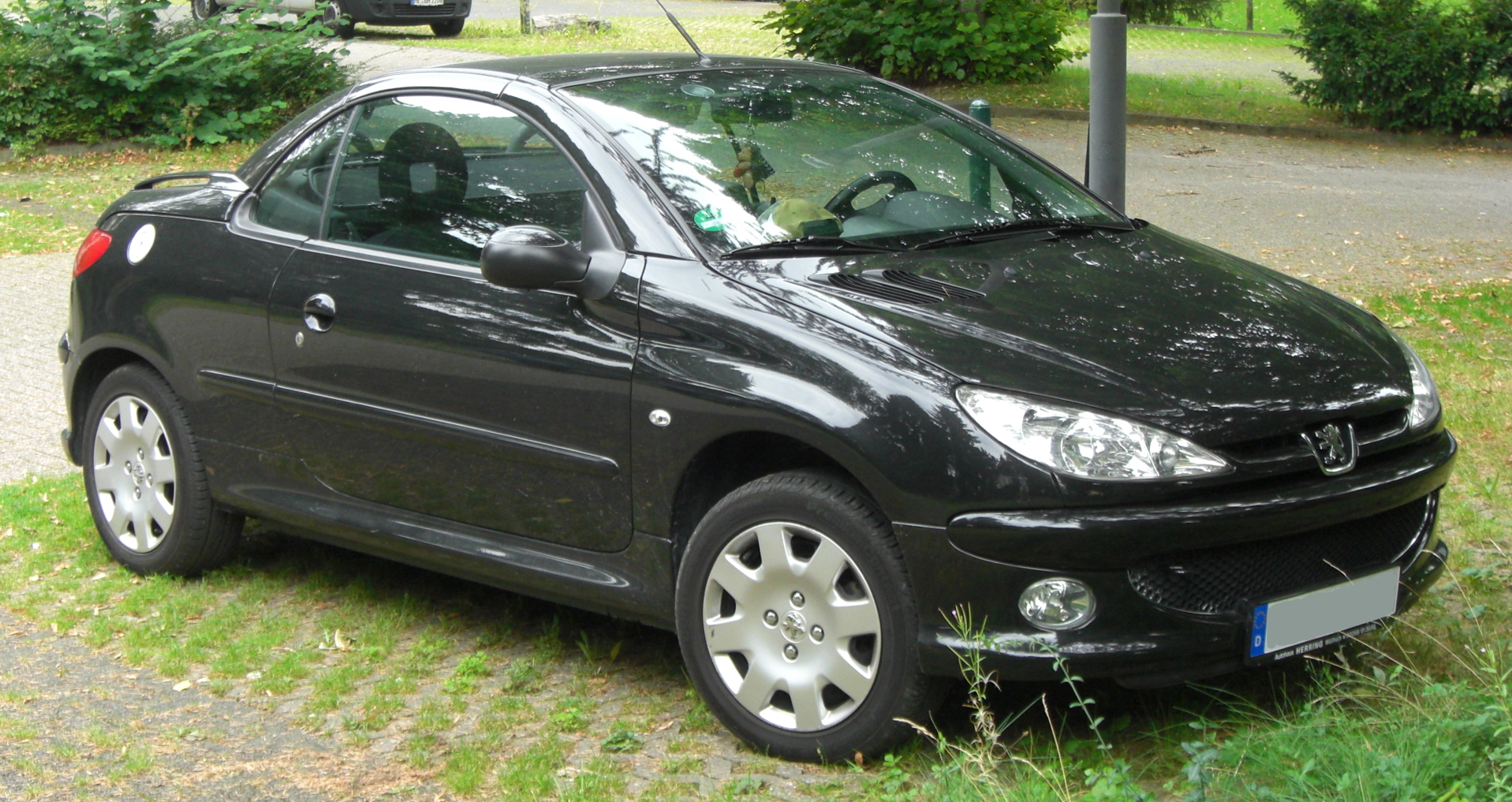 file peugeot 206 cc facelift wikimedia commons. Black Bedroom Furniture Sets. Home Design Ideas