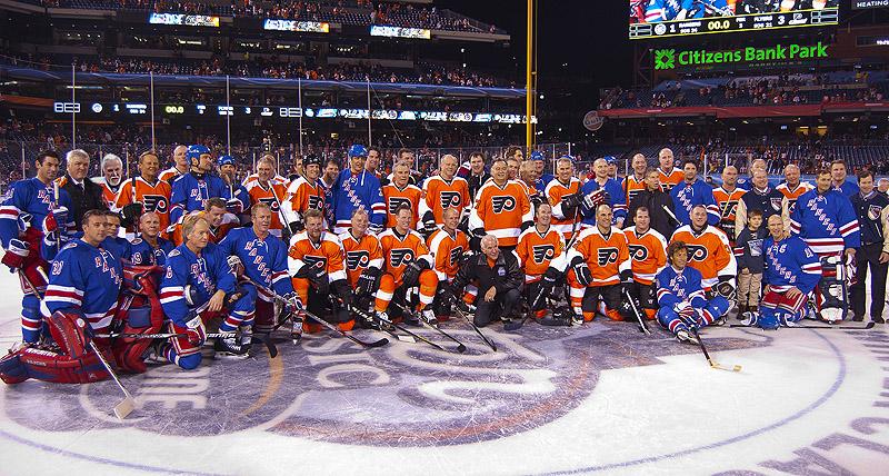 """Résultat de recherche d'images pour """"Philadelphia Flyers @ New York Rangers"""""""