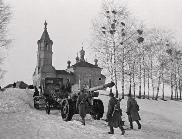 Солдаты ВОВ №57 - Сержант стрелковых частей в зимнем полевом обмундировании, 1943–1945гг.