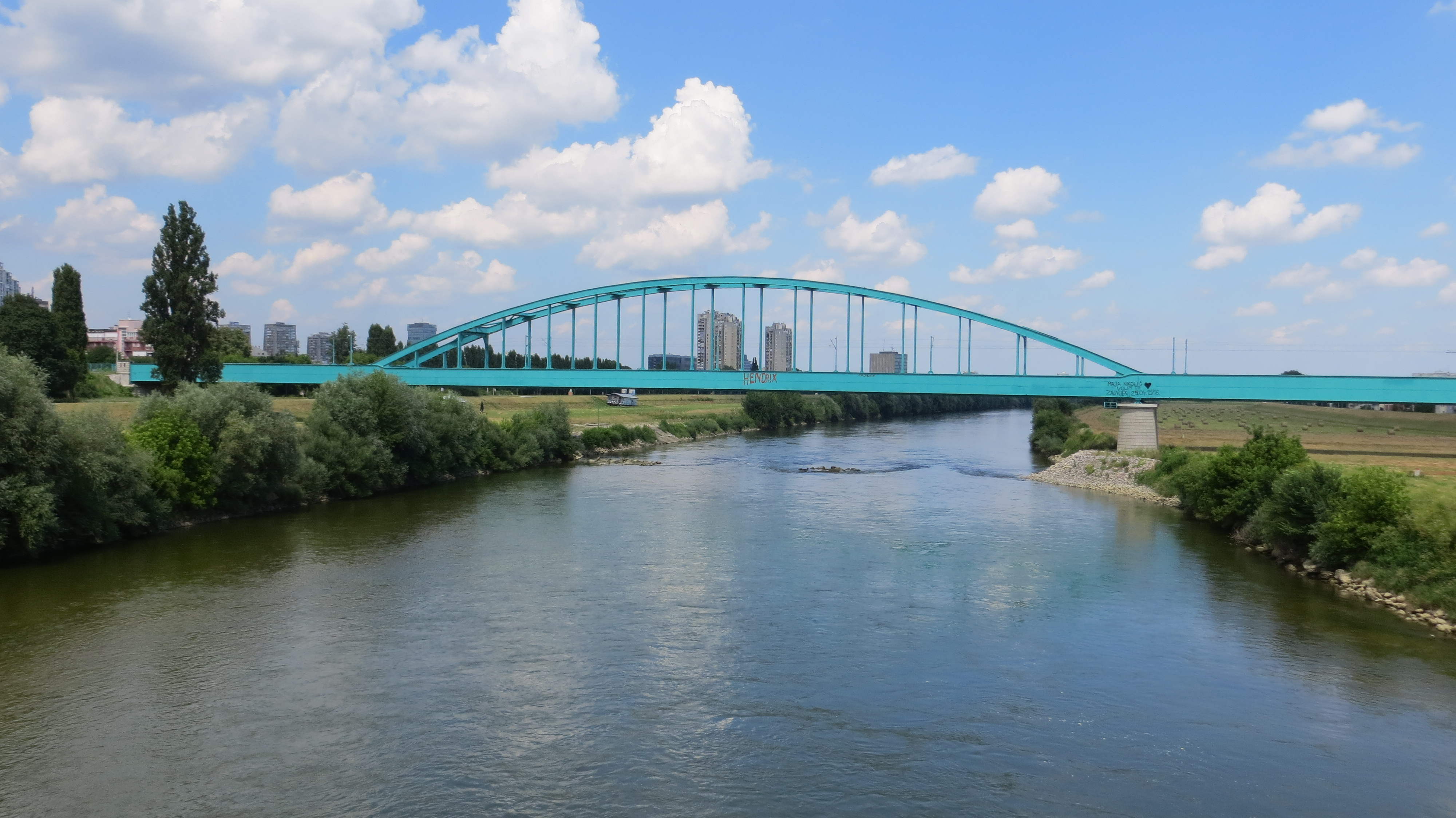 Novi Zeljeznicki Most Zagreb Wikipedia