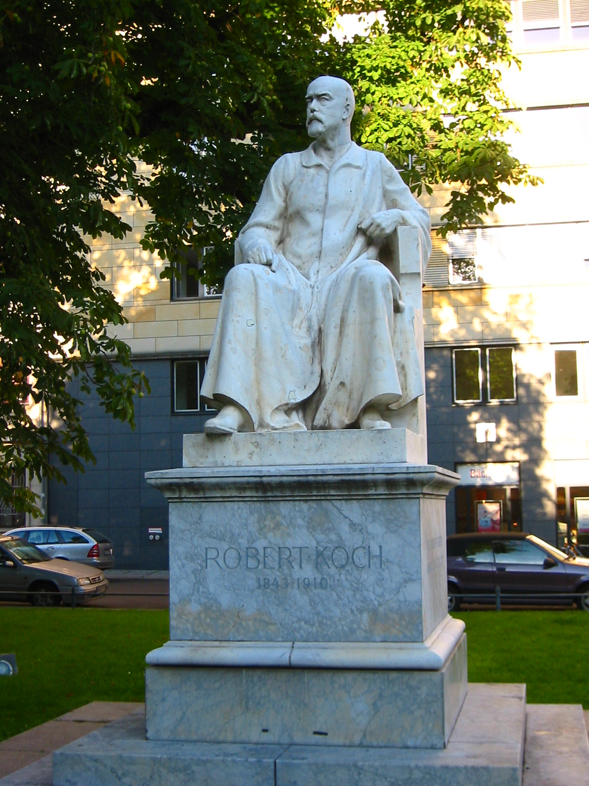 Image result for koch statue
