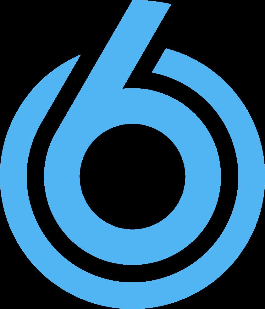 Afbeeldingsresultaat voor sbs6 logo png