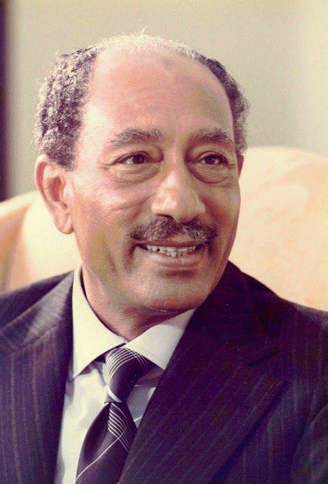 Anwar Sadat in 1978