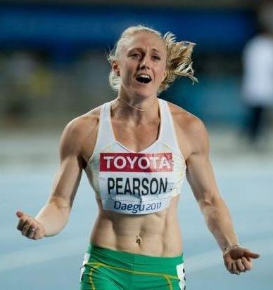 Sally Pearson Daegu 2011