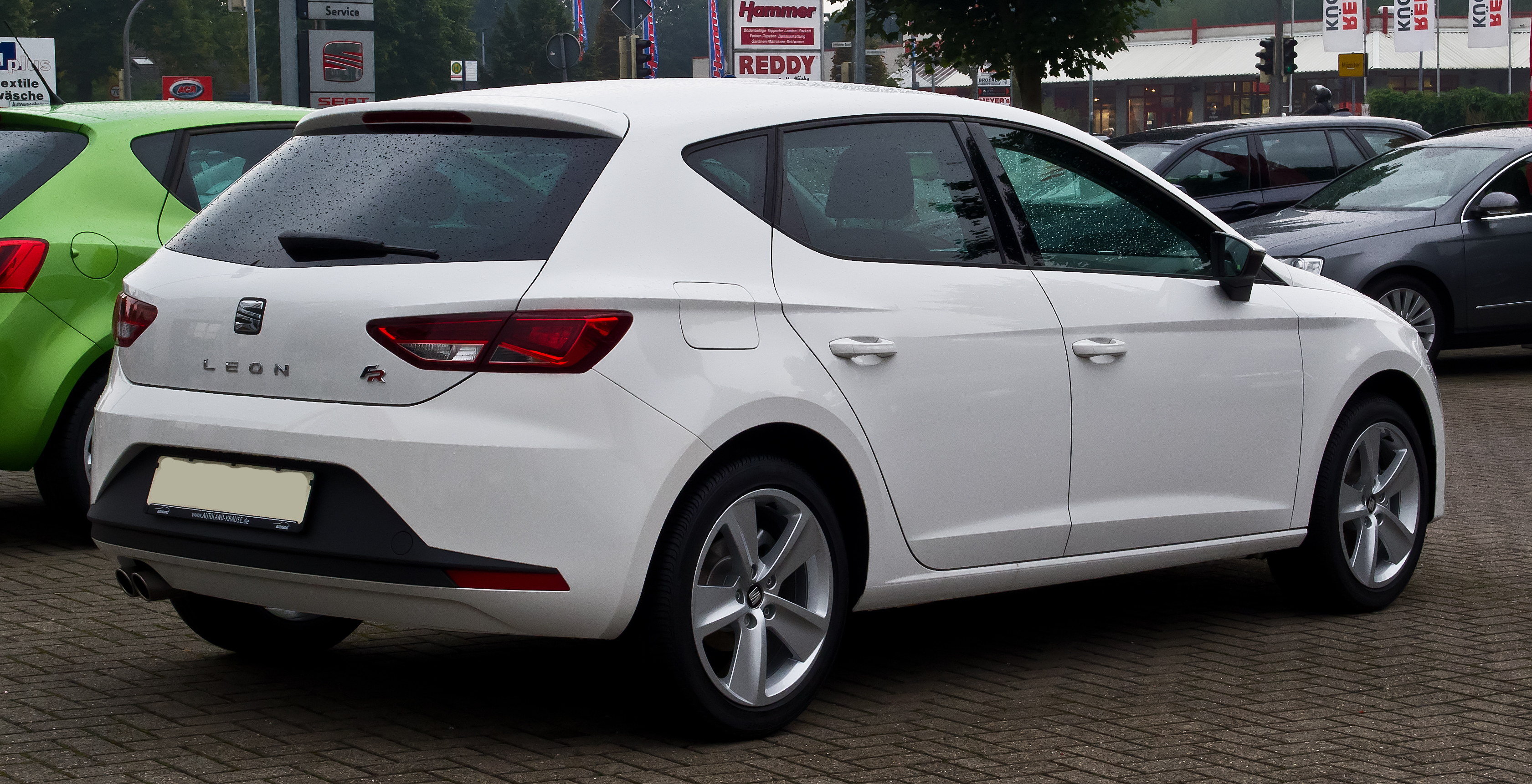 file seat leon 1 4 tsi start stop fr iii heckansicht 7 september 2013 m. Black Bedroom Furniture Sets. Home Design Ideas