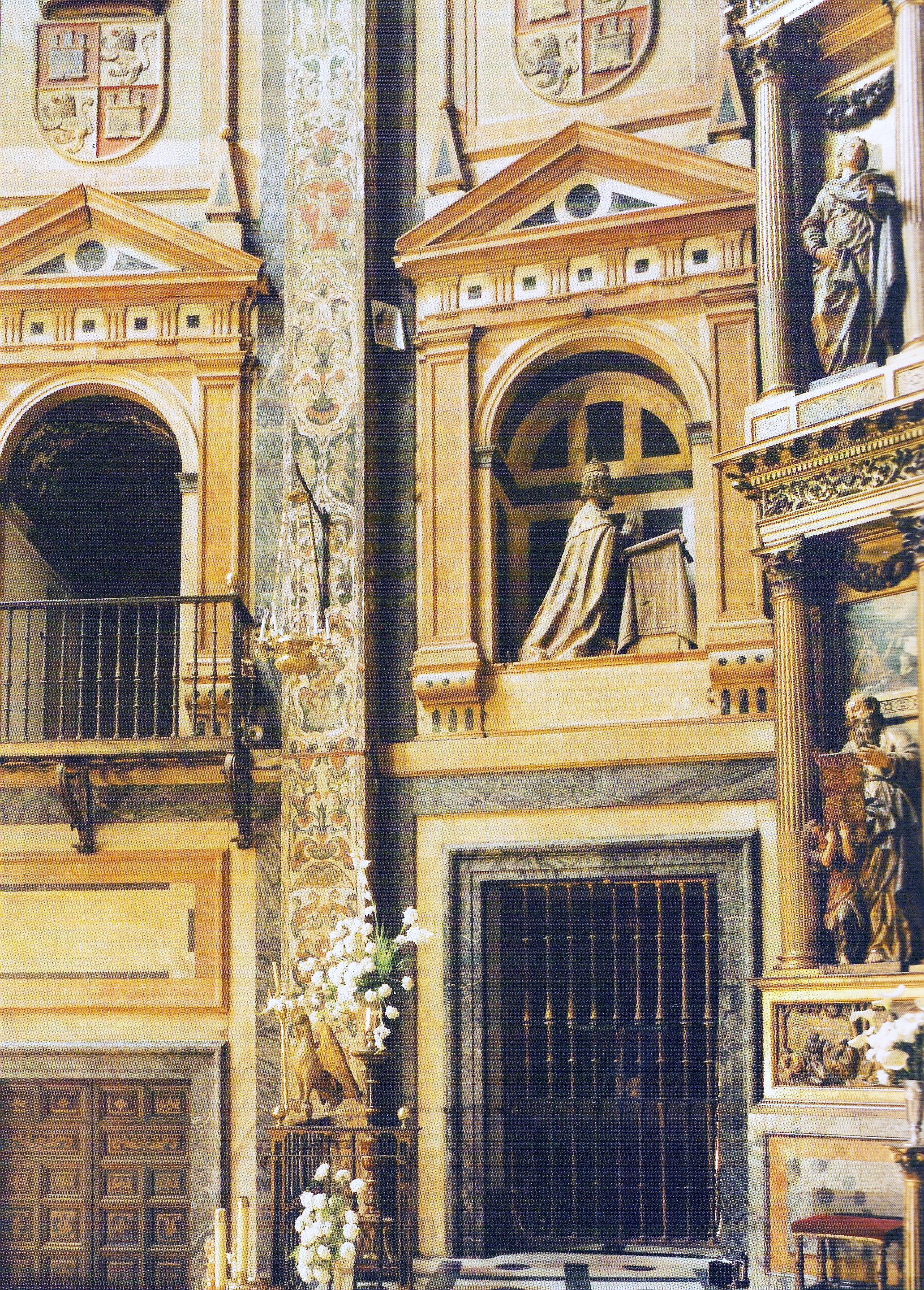 Datei:Sepulcro de Enrique IV, rey de Castilla y León ...