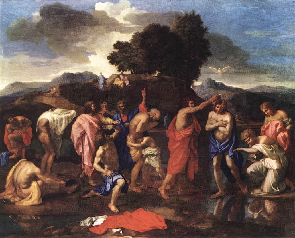Baptism Of Jesus Painting
