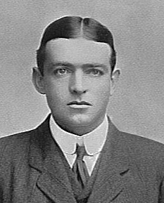 Photograph of Ernest Shackleton as a young man