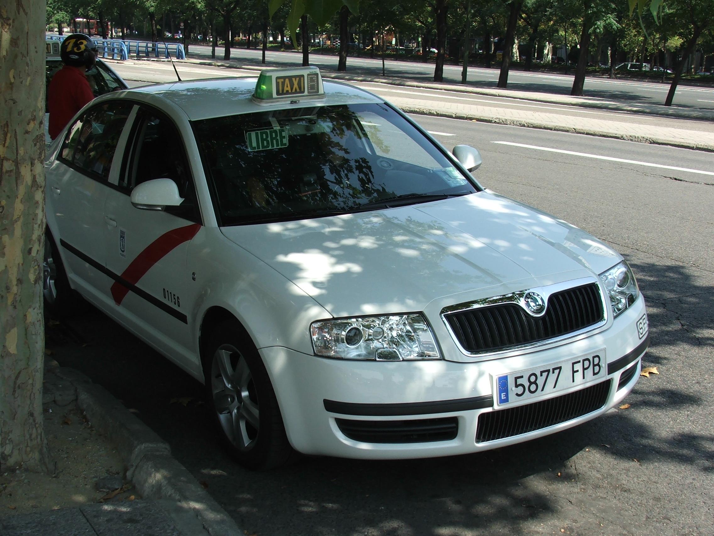 Q3 Skoda Taxi