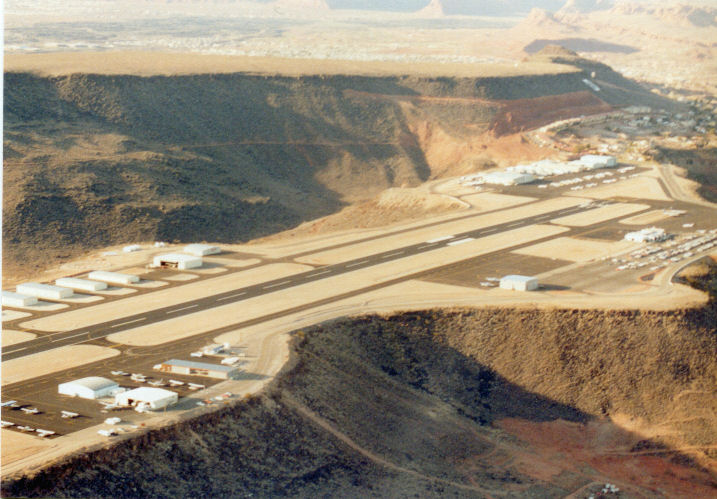 Airlines Flying into SGU Airport in St. George, Utah