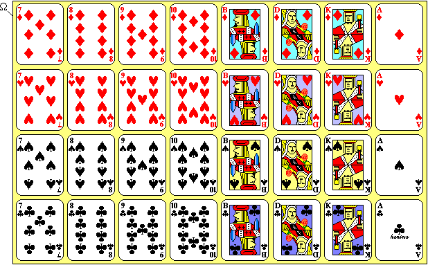 kartenspiele zum ausdrucken