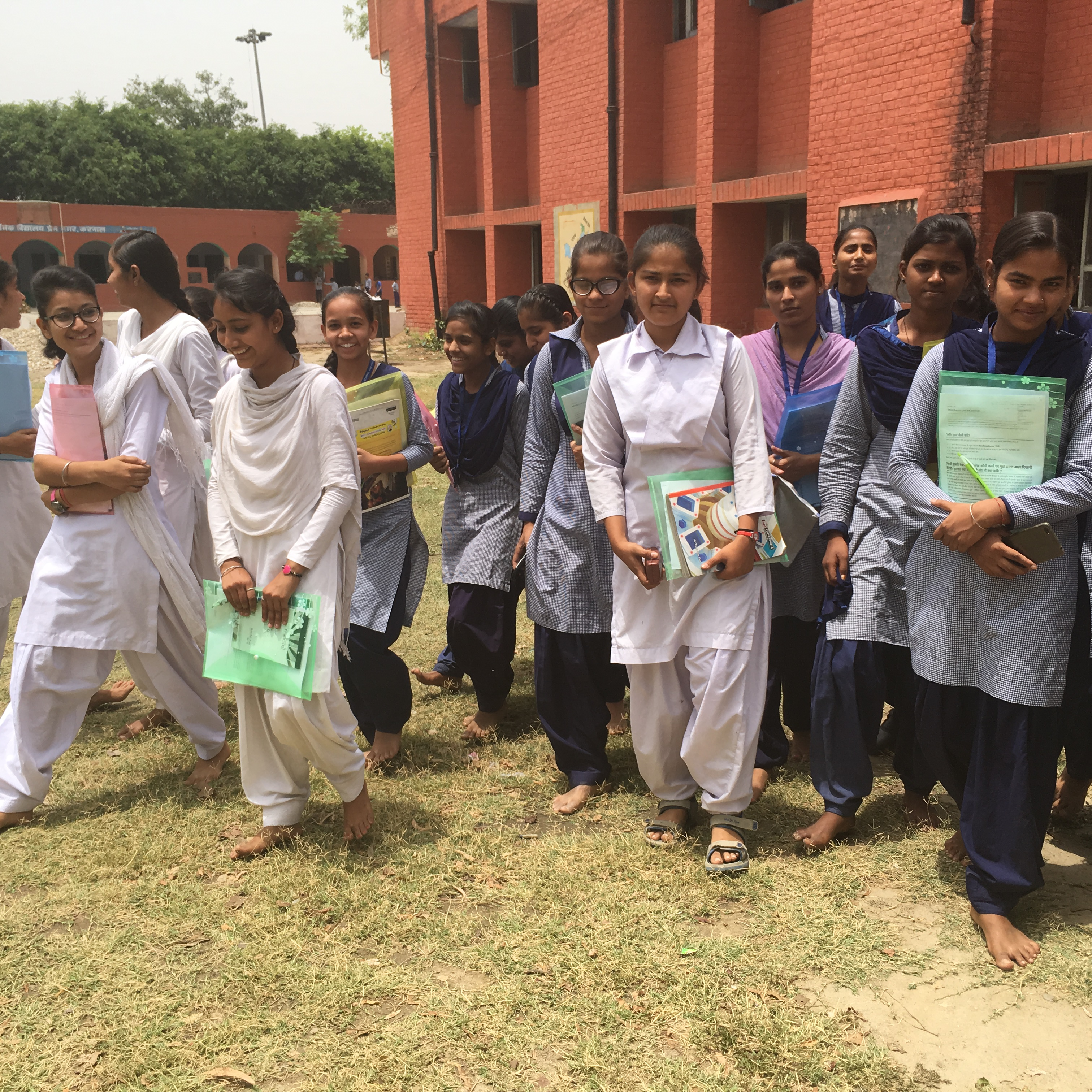 File Students During Wiki Awareness Campaign Karnal 04 Jpg