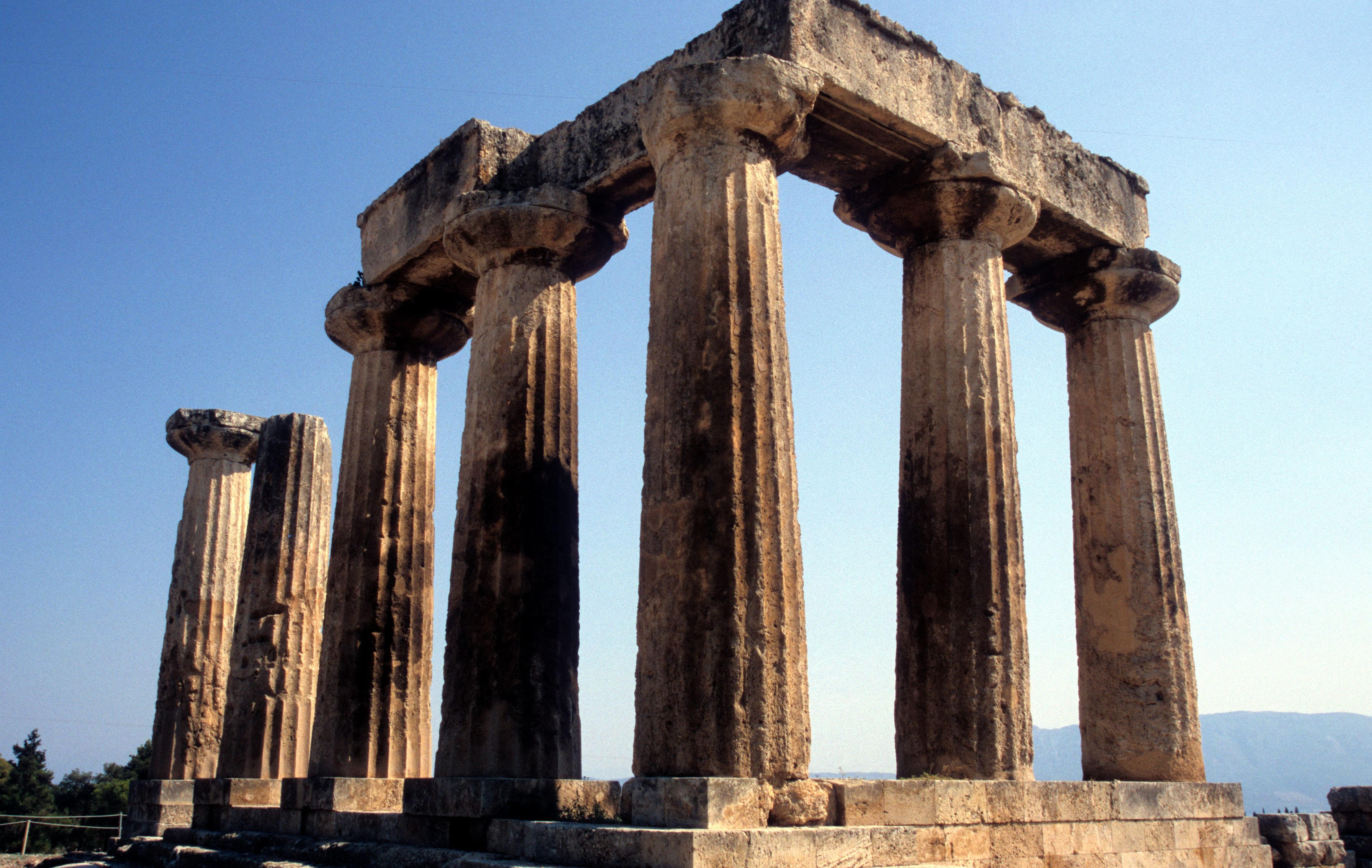 File:Temple Apollo Korinth OLC.jpg - Wikimedia Commons