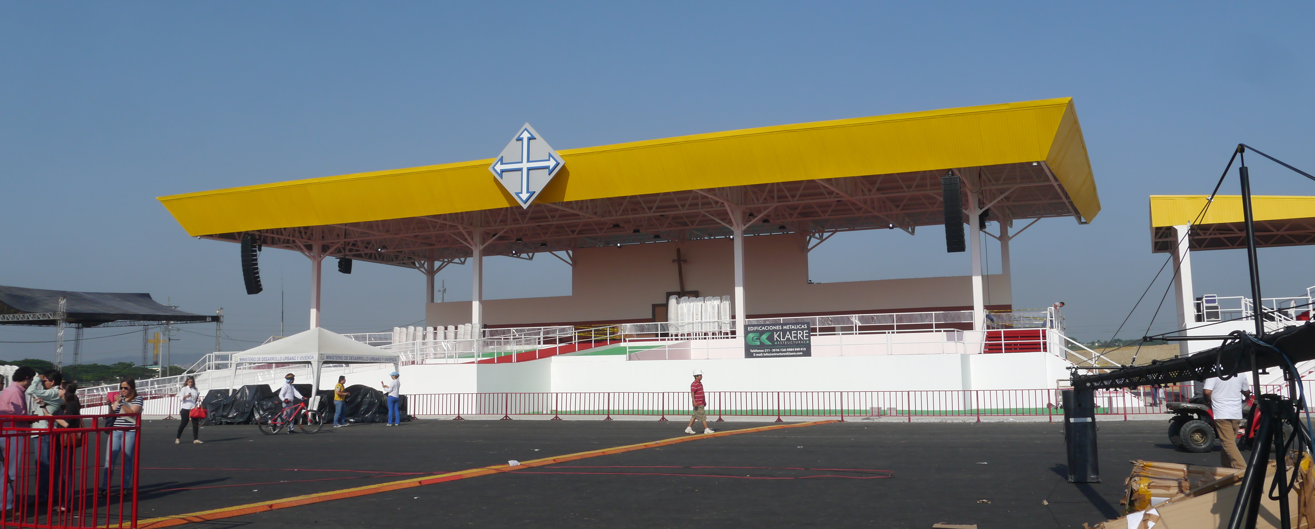 File Templete Papal Guayaquil 2015 Jpg Wikimedia Commons
