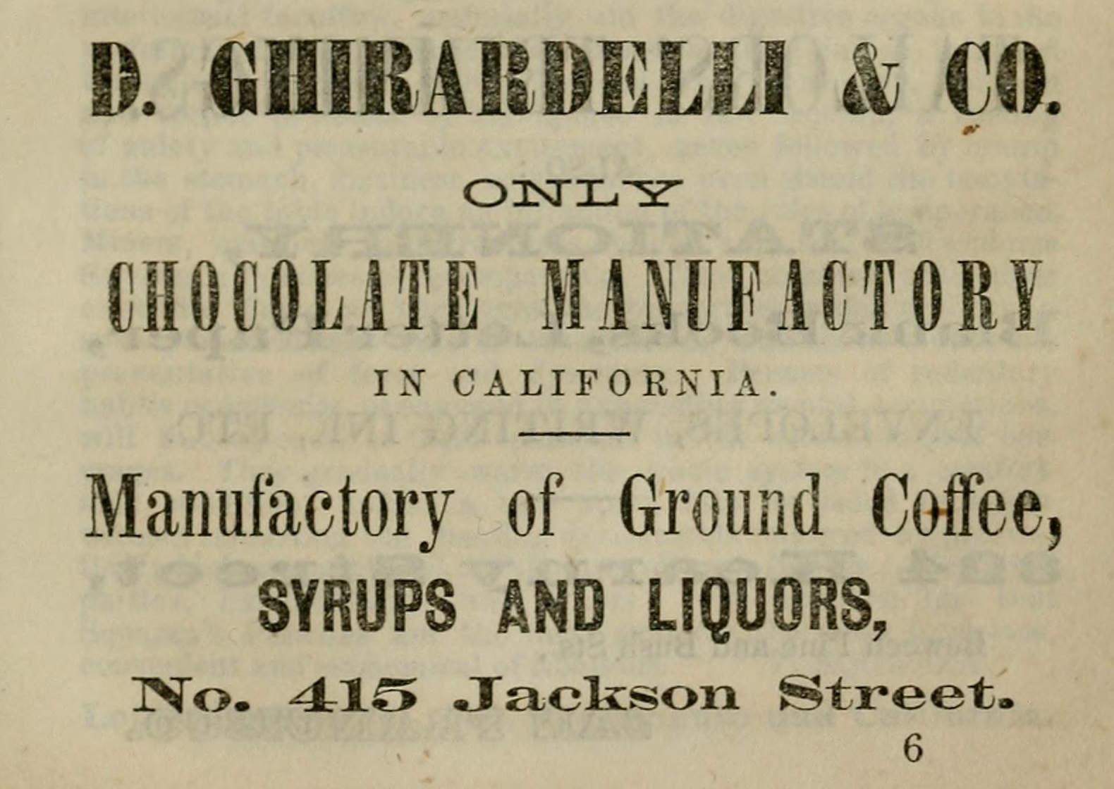 Ghirardelli Chocolate Company - Wikipedia