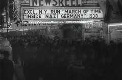 Crowd in front of a New York news cinema running Inside Nazi Germany (1938), was an inductee of the 1993 National Film Registrylist.[4]