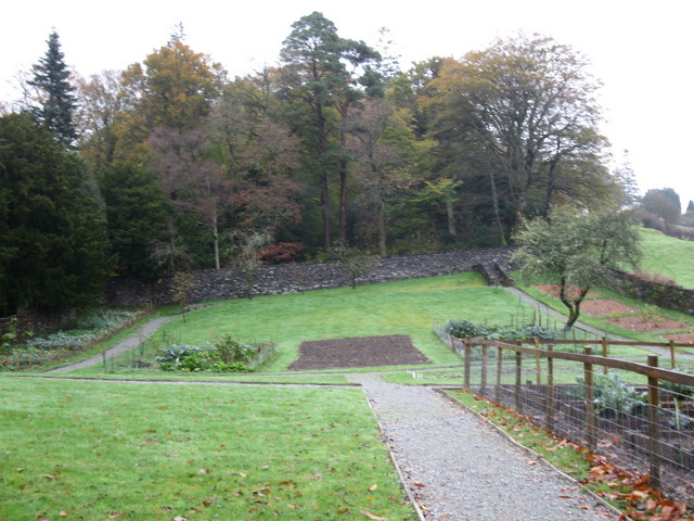 The walled garden, Monk Coniston - geograph.org.uk - 1573875