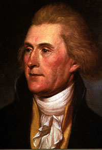 Thomas Jefferson, the principal drafter of the...