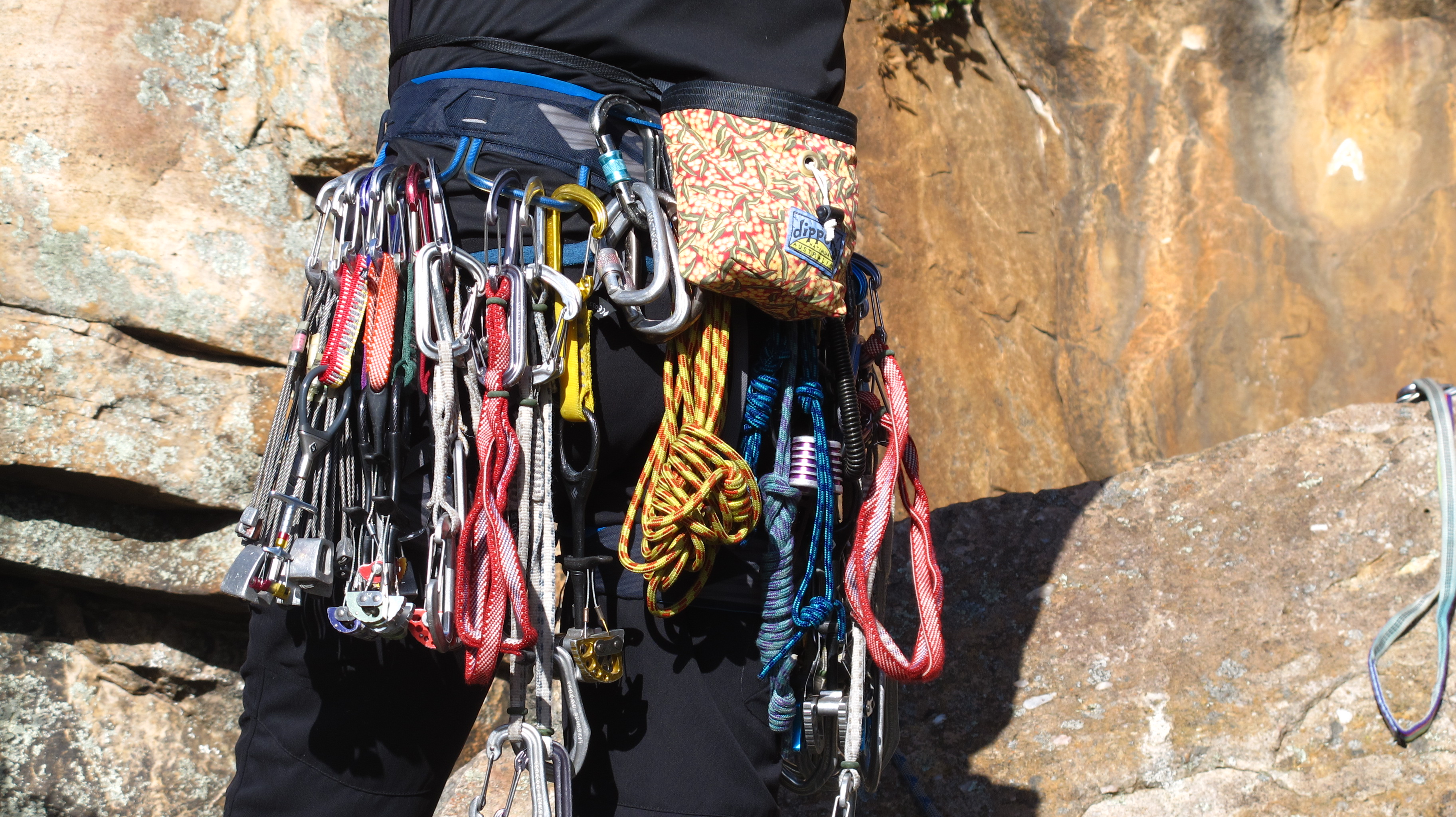 buying trad climbing gear beginners