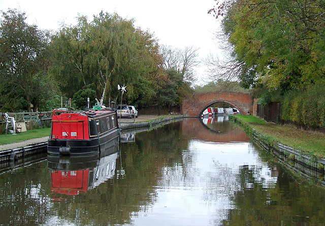 Trent and Mersey Canal near Egginton, Derbyshire - geograph.org.uk - 1586300