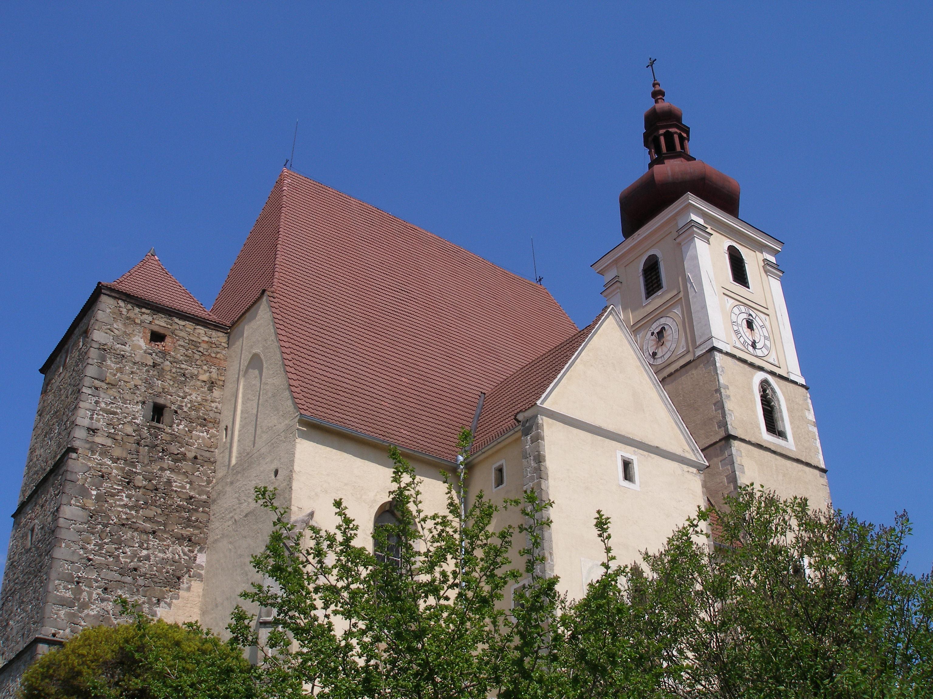 kostel Nanebevzetí Panny Marie v Trhových Svinech