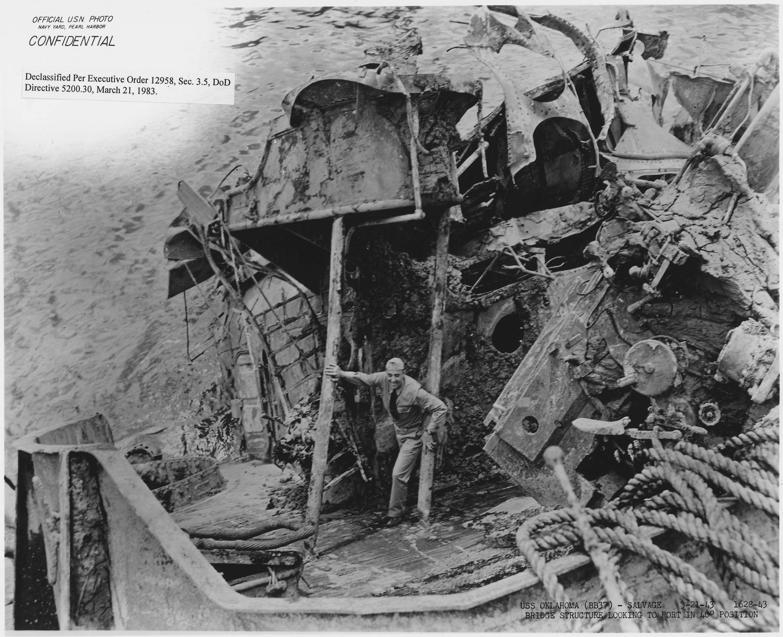 Uss Arizona Human Remains File:USS Oklahoma (BB3...