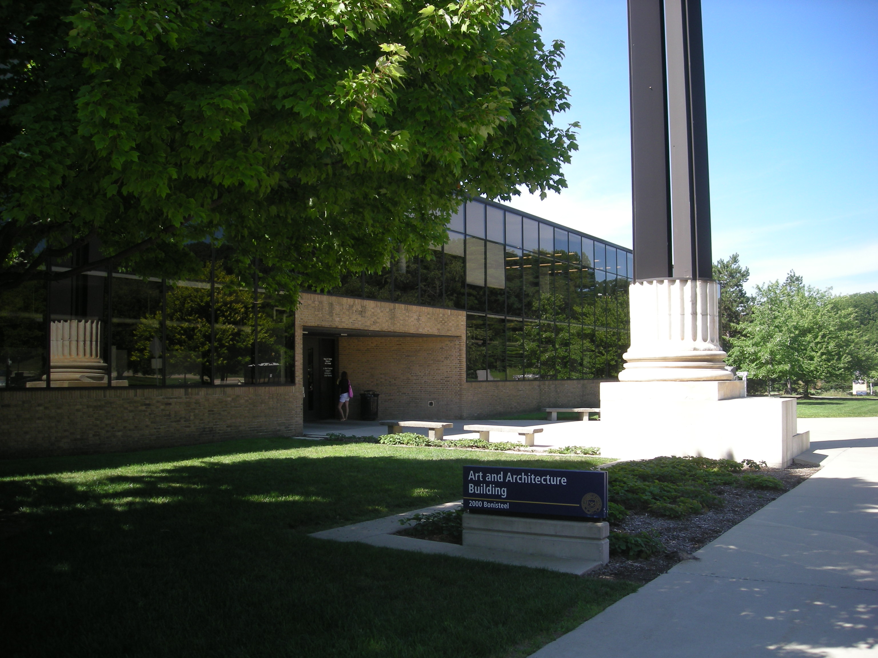 File:University Of Michigan August 2013 001 (Art And Architecture  Building)