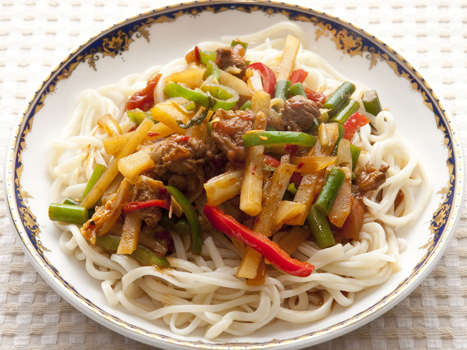 Image result for Uyghur lamian