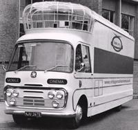 Vintage mobile cinema