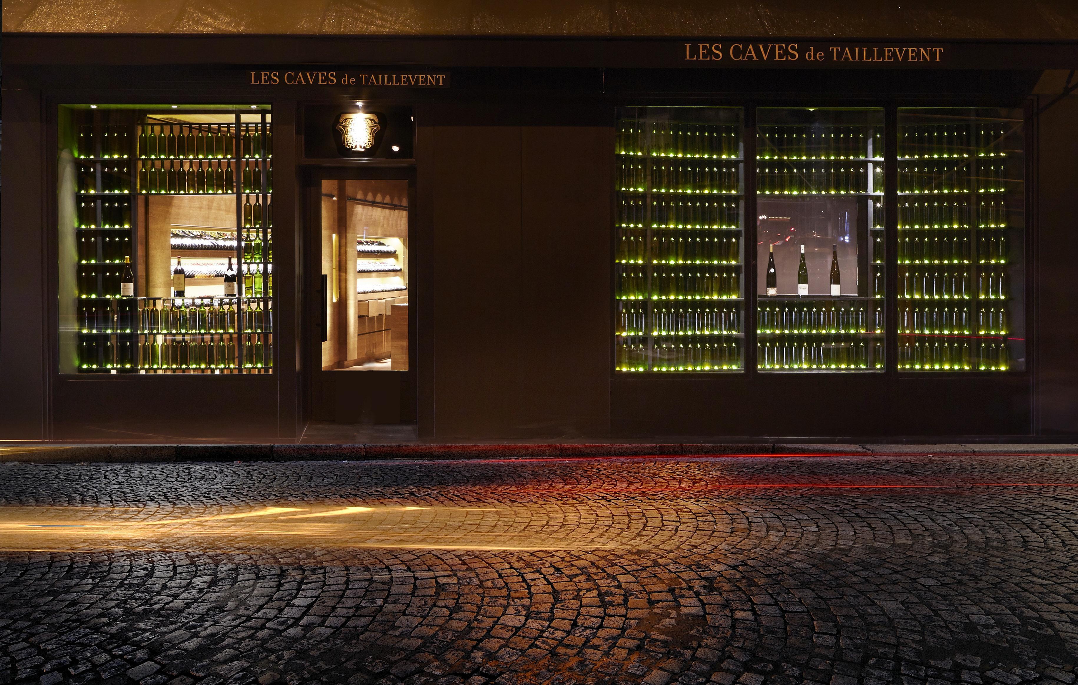 File vitrine les caves de taillevent wikimedia commons - Cave a vin murale ...
