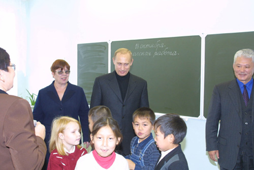 Vladimir Putin 18 October 2001 4