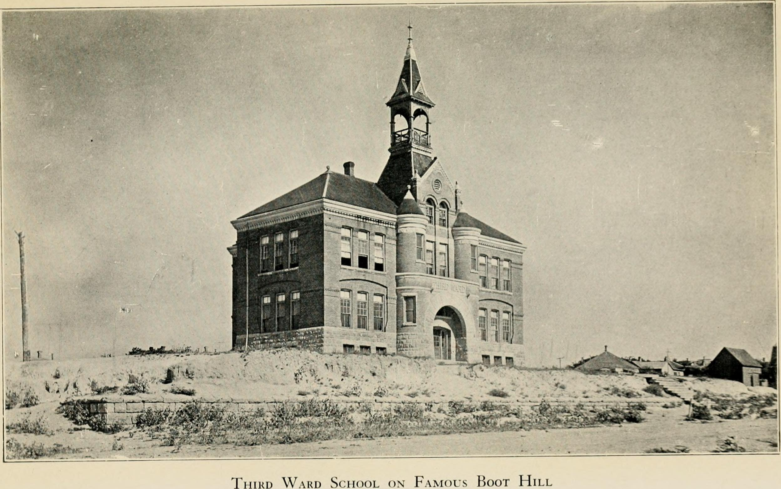 File Wright 1913 Third Ward School Dodge City Ks