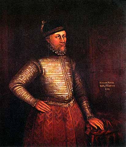 Ричард Невилл, граф Уорик (посмертный портрет). Изображение из Википедии.