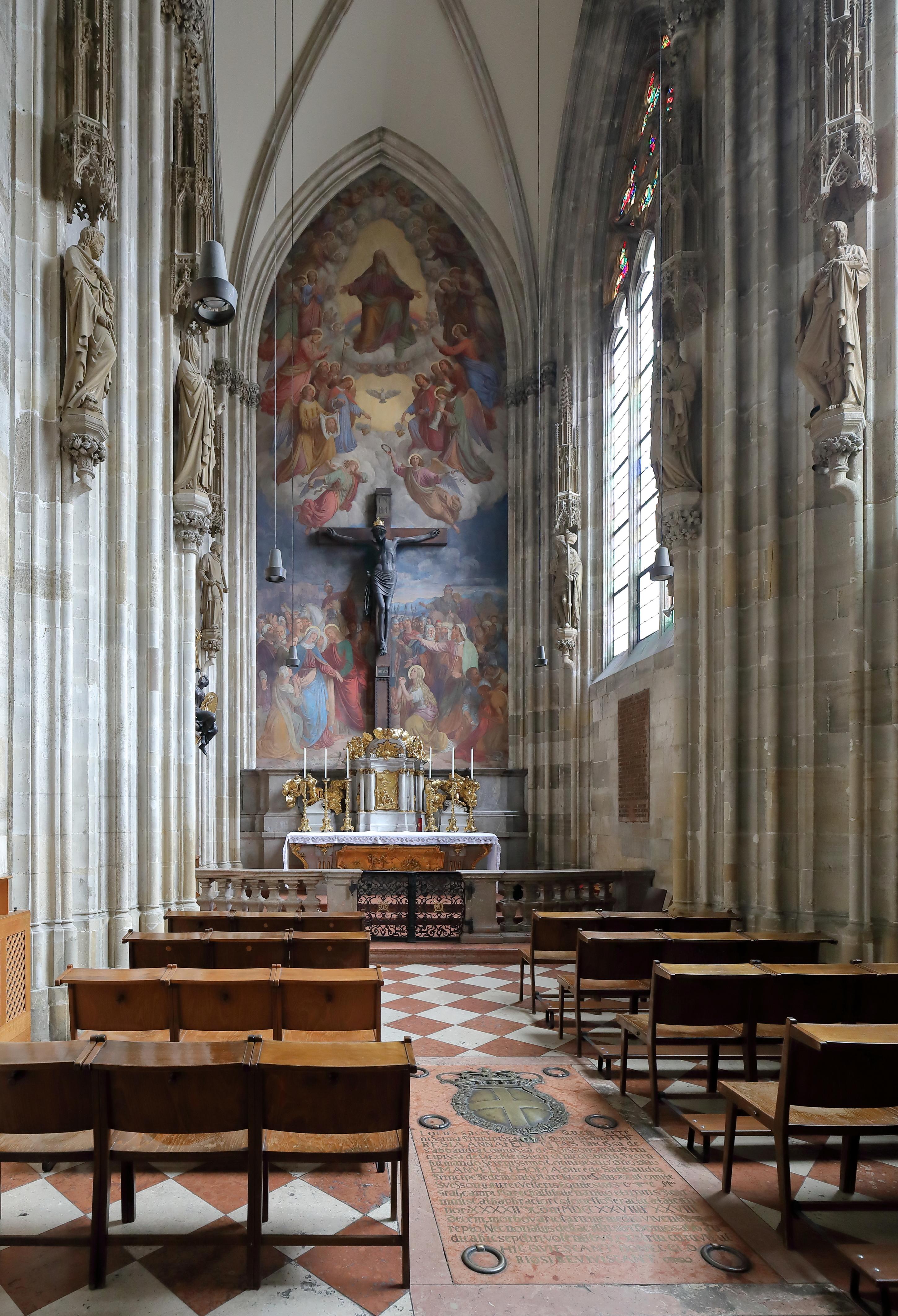 Wien - Stephansdom, Kreuzkapelle (1).JPG