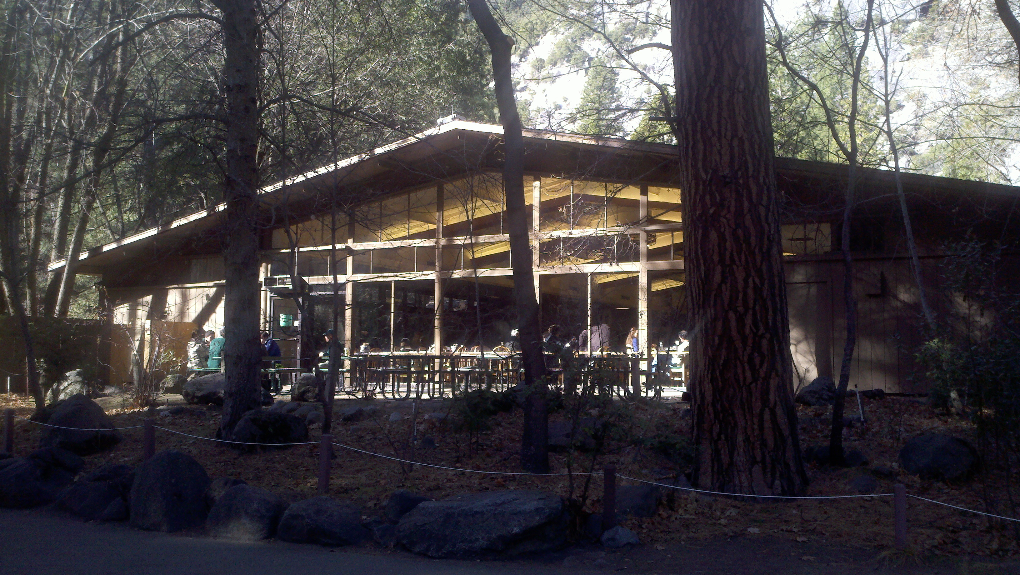 inside available winter yosemite curry village of tent formerly dome during a heated has half cabins hundreds